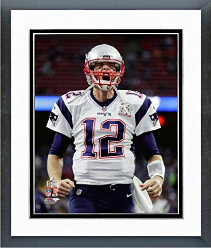 Tom Brady New England Patriots Super Bowl LI Photo (Size: 12.5