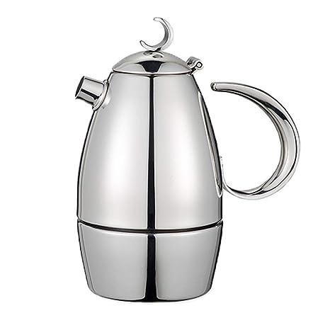 Cafetera espresso italiana, estufa de inducción Moka Pot ...