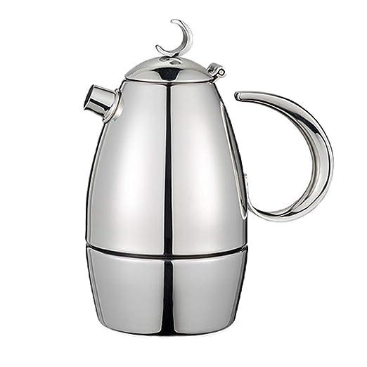Cafetera espresso italiana, estufa de inducción Moka Pot Cafetera ...