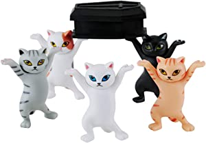 The Cat Coffin Dance,The Cat lifted the coffin Dancing Pallbearers, pen holder, mobile phone holder-Five Cat