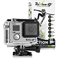 Review XP C600 4K Action Camera – Waterproof - Sony 16MP Sensor - Wi-Fi - 170° Angle - 4x Zoom Lens - Dual Screen - Ultra HD Sports DV Digital Camcorder – Bundle of 20+ Mounting Kits & Accessories