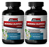 Product review for Lose weight fast pills for women - MORINGA OLEIFERA EXTRACT - Moringa supplement - 2 Bottles 120 Capsules