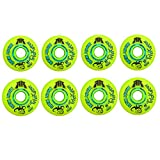Rink Rat Wheels 80mm / 76mm Hilo 84A Trickster X Inline Indoor Roller Hockey