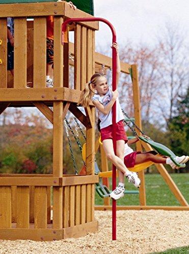 Outdoor Play Fireman 39 S Pole Home Garden Lawn Garden Living Structures