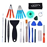Mudder 28 in 1 Universal Screen Removal Opening Repair Tool Kit Pry Tools Kit and Screwdriver Set for iPhone, Motorola, Sony, Samsung, LG, iPad, Tablets and Laptop