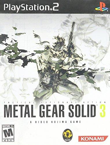 - Metal Gear Solid 3 - PlayStation 2