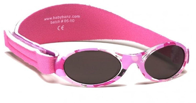 Baby Banz Aventurero Gafas de sol - Camo rosado