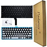 Padarsey Replacement Backlight Backlit Keyboard with 80 PCE Screws Compatible for MacBook Air