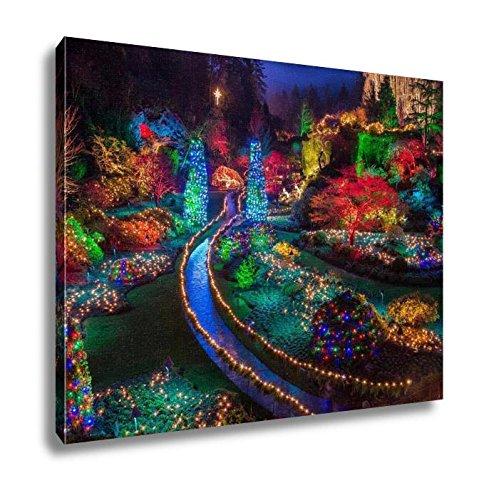 Christmas Lights At Butchart Gardens