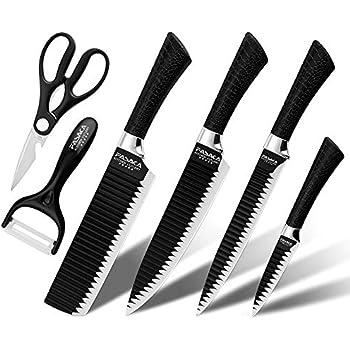 Amazon.com: Cuchillos de chef profesionales Den Haven, juego ...