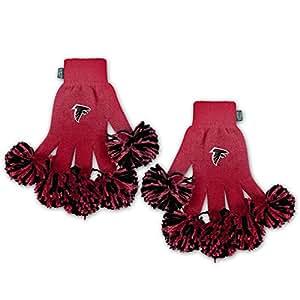 NFL Atlanta Falcons Embroidered Spirit Fingerz Pom Pom Gloves