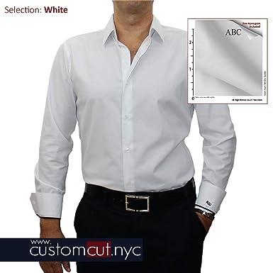 81037971835 Non Iron Mini Oxford Pure White Non Iron Custom Monogrammed Dress ...