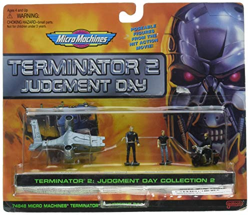 Micro Machines Terminator 2 Judgement Day Collection #2 by Galoob MicroMachines