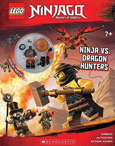 Ninja Vs. Dragon Hunters (LEGO Ninjago: Activity Book with minifigure)