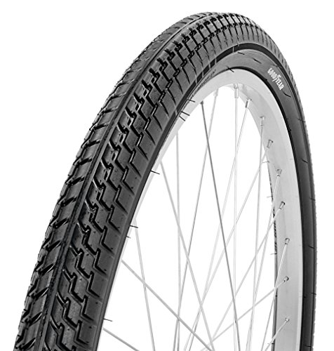 Goodyear Folding Bead Cruiser Bike Tire, 26 x 2.125, Black