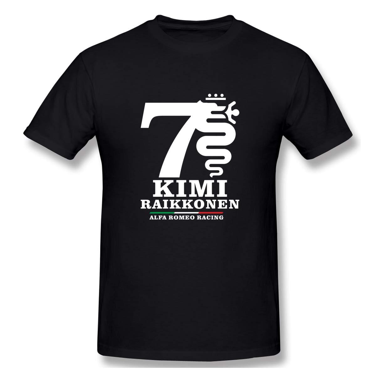 Kimi Rkonen Alfa Romeo Racing Print Short Sleeve Funny Shirt For And