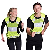 Reflective Vest for Running or Cycling + Jogging