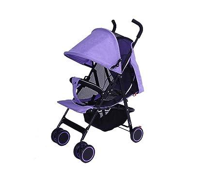 ZELIAN Carretilla portátil para bebés, para niños, Ligera ...