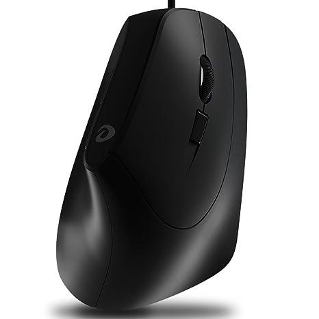 L&Y Vertical ratón de sobremesa ratón del Ordenador portátil del ratón ratón de la Oficina del