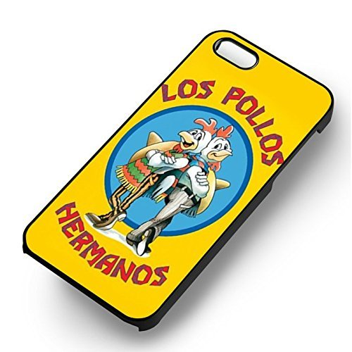Breaking Bad Los Pollos for Cover Iphone 6 and Cover Iphone 6s Case (Black Hardplastic Case) P4T5HM