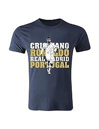 Cristiano Ronaldo Real Madrid T-Shirt (Navy) - Kids