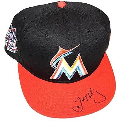 Justin Nicolino Signed Miami Marlins Prospect Autographed Hat COA