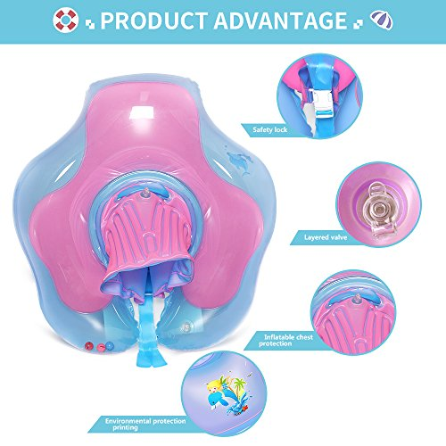Amazon.com: Waitiee Baby Free Swimming Inflatable U-shape Underarm Swimming Ring Baby Float for Swimming Pool, 2 to 6 Years Old (Purple, X-Large): Toys & ...