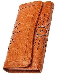Women's Lady Leather Wallet Purse Credit Card Clutch Holder Long Wallets