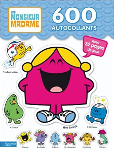 600 Stickers Monsieur Madame Amazon Fr Collectif Livres