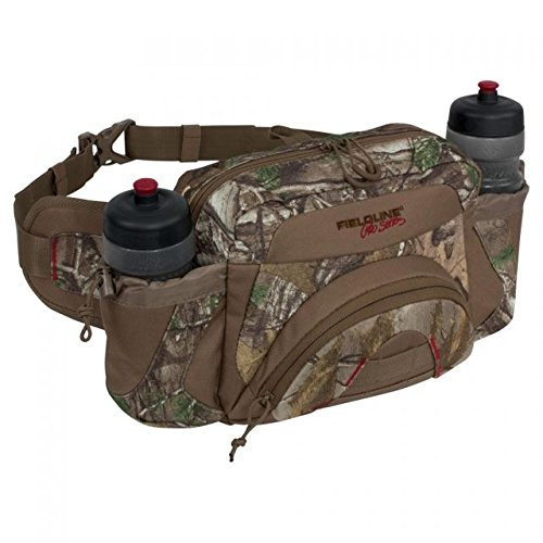 Fieldline Pro Series H2O Field Waist Pack with Two Water Bottles, 7.2-Liter Storage Capacity, Camouflage ()