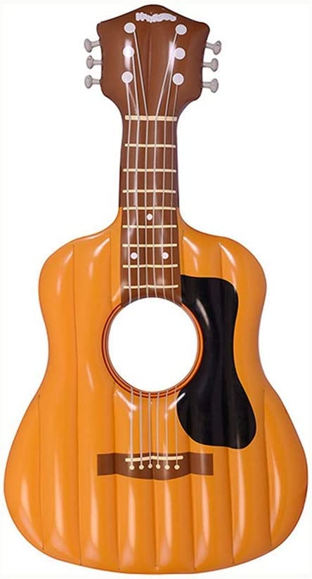 Sucastle Juguete Hinchable Flotante del Piscina Cama Flotante Guitarra General y Adulto y Anillo de la natación del niño y Silla de la recreación del Agua - 160cm