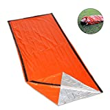 Emergency Survival Sleeping Bag Lightweight Thermal Insulation Compact Outdoor Frist Aid Gear Waterproof Bivy Sack for Camping Hiking Backpacking