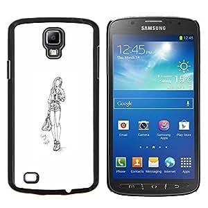 GIFT CHOICE / Teléfono Estuche protector Duro Cáscara Funda Cubierta Caso / Hard Case for Samsung Galaxy S4 Active i9295 // waiting for boy friend ? //