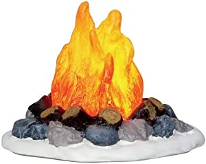 Lemax Village Collection Camp Fire Battery Operated # 04273