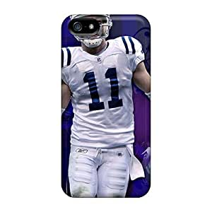 Hard Protect Phone Case For Iphone 5/5s (GZh4368Nsmc) Allow Personal Design Attractive Indianapolis Colts Pictures