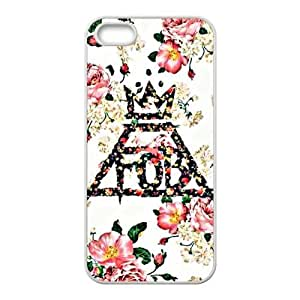 Lucky Fall Out Boy Floral Logo Cell For Iphone 5/5S Phone Case Cover