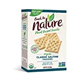 Back to Nature Crackers, Organic Saltine, 7 Ounce