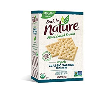 Back to Nature Crackers, Organic Saltine, 7 Ounce (Pack of 6)
