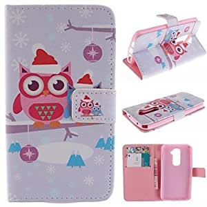 Kinston Body Art Pattern PU Leather Full Body Case with Stand for HTC Desire 816