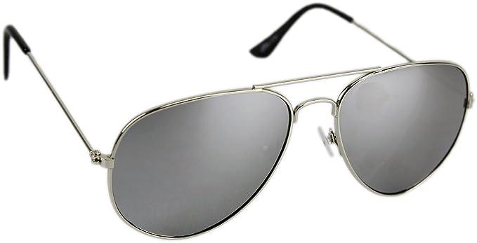 Premium Set, Pilotenbrille Verspiegelt Fliegerbrille Sonnenbrille Pornobrille Brille mit Federscharnier (85