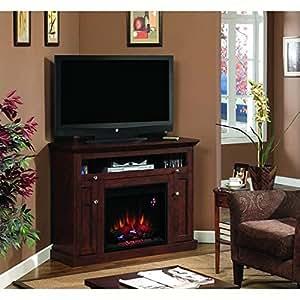 Windsor Corner Infrared Electric Fireplace Media Cabinet 23DE9047-PC81