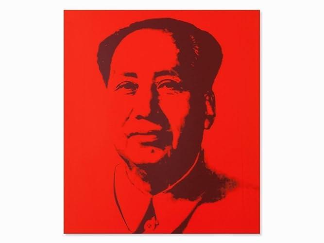 Amazoncom Mao  Red Sunday B Morning Andy Warhol Fine Art