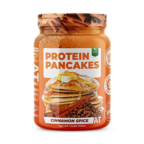 SDC Nutrition About Time Protein Pancake Mix Cinnamon Spice 10 Servings - 1.5 lbs