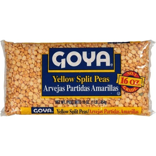 Goya Yellow Split Peas 16 Oz ...6pack (Yellow Split Pea)