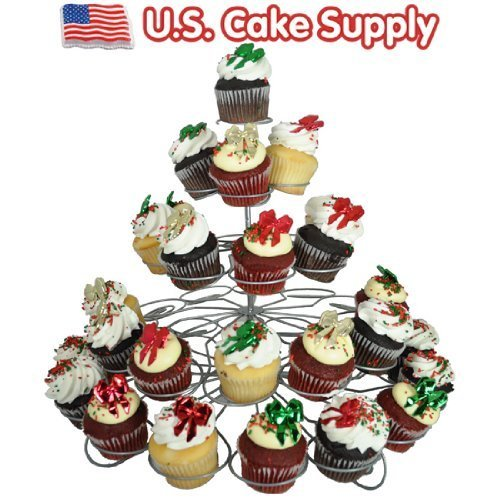 (41-Count Light-weight 5-Tier Metal Dessert and Cupcake Stand by U.S. Cake Supply)