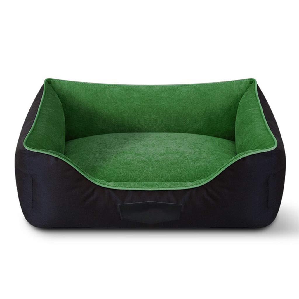 5  60cm80cm 5  60cm80cm DSADDSD Pet Bed Kennel Removable Mat Sofa Keep Warm And Moistureproof Both Sides Can Be Used Pet Supplies (color   5 , Size   60cm80cm)