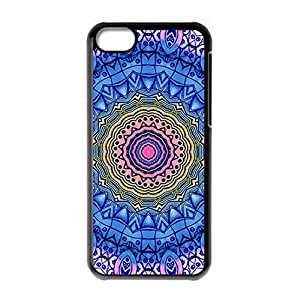Hard back cover with Beautiful Mandala style for iPhone 5C