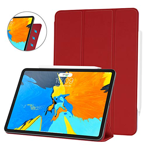 Ayotu Case for iPad Pro 11 Inch 2018,Strong Magnetic Ultra Slim Minimalist Smart Case with Auto Sleep/Wake,Support Cover