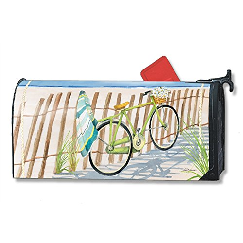 Beach Trail LARGE MailWraps Magnetic Mailbox Cover #21463 by Magnet Works