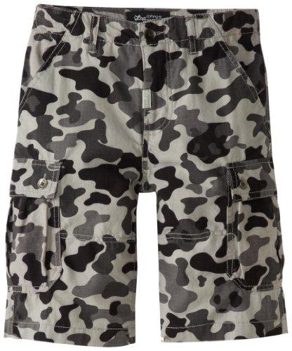 LRG Boys 8-20 Panda Camo Cargo Shorts